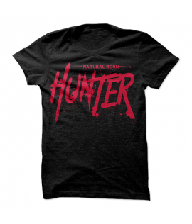 Natural Born Hunter Black and Red