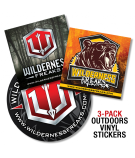 Outdoor Vinyl Sticker - 3pack