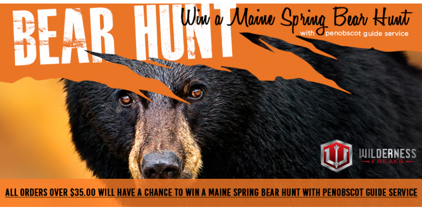 Wilderness Freaks - Bear Hunt Giveaway!
